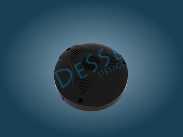 360 ip kamera_3d_endüstriyel ürün modelleme render
