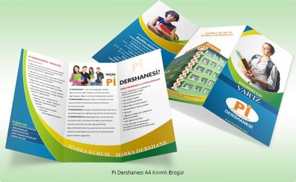 Broşür Grafik Tasarım 1