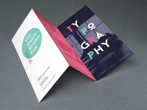 Broşür Grafik Tasarım 6