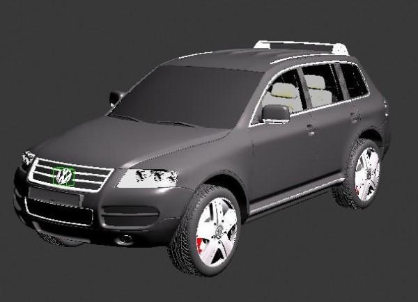wolkswagen 3d model