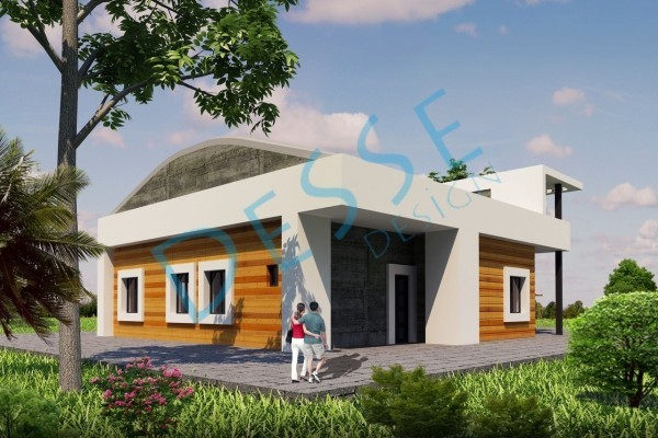 3d Dış Cephe Florya Villa Tasarımı 3d Realistic Render