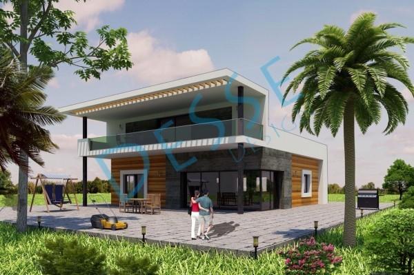3d Dış Cephe Florya 3d Villa Modelleme 3d Realistic Render