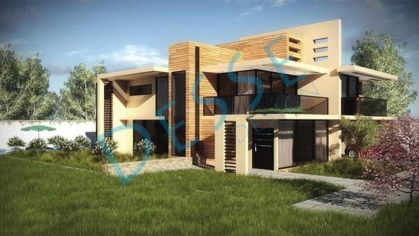 3d Dış Cephe Arımak Villa Tasarımı 3d Realistic Render