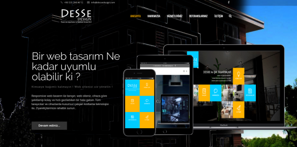Desse Design Net Web Tasarım