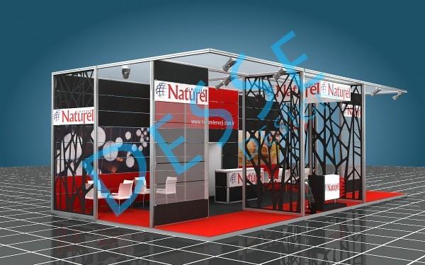 Naturel Group Maxima Fuar Stand 3d Tasarımı
