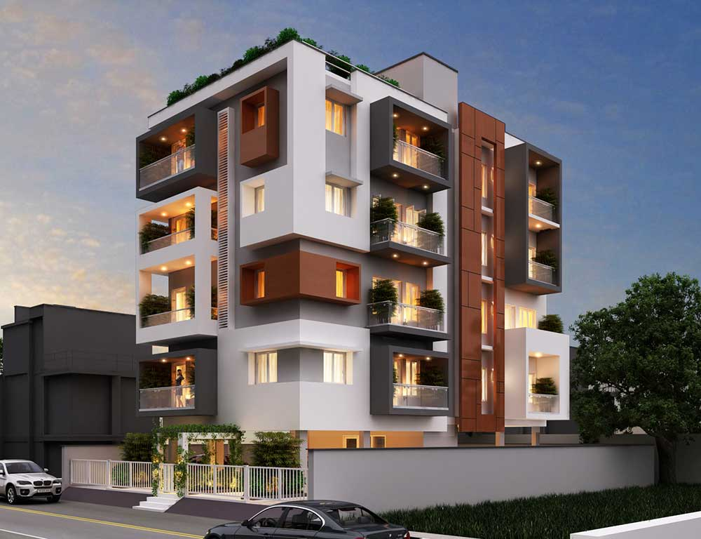 Konut d cephe tasar mlar desse design tasar m - Apartment exterior colour combination ...